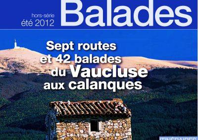 Vaucluse matin - Hors série Balades 2012 (Couverture et reportages)